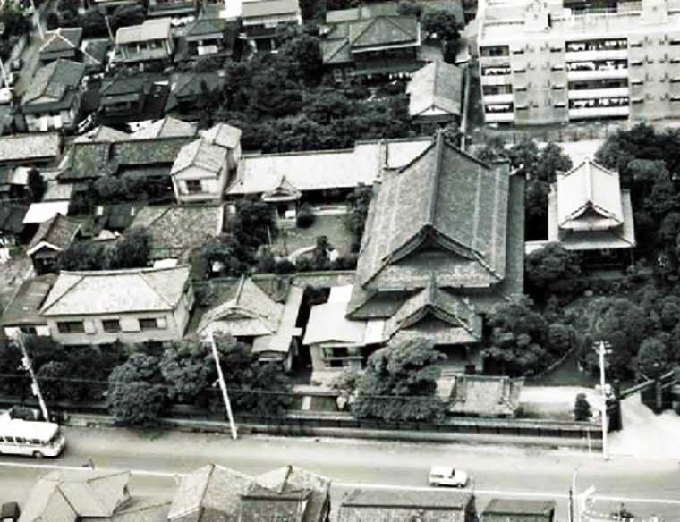 上空から見た麹町大教会